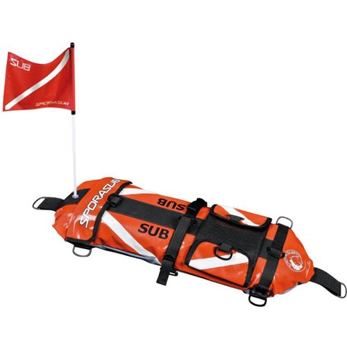 spearfishing gear inflatable sporasub patriot float