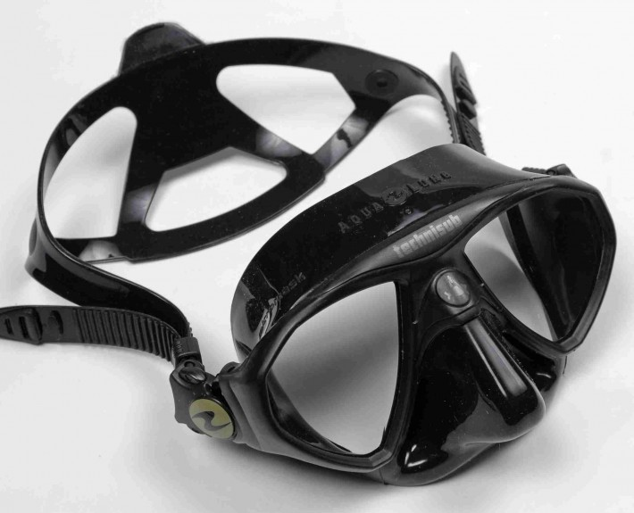 micromask freediving mask low volume
