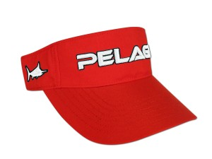 Pelagic Offshore Visor (red)
