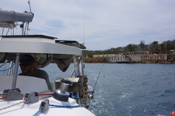 Coming into Cienfuegos