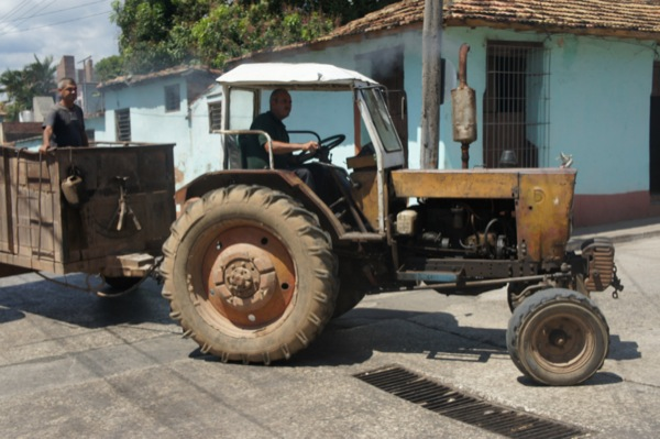 Trinidad, Cuba and transport