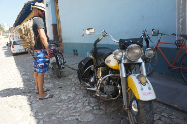 Cuba's only Harley