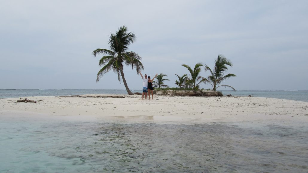 Private Island for our guests in San Blas